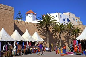 Market, Essaouira, Morocco, North Africa, Africa by Neil Farrin