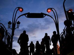 Metro Entrance, Montmartre, Paris, France by Neil Farrin