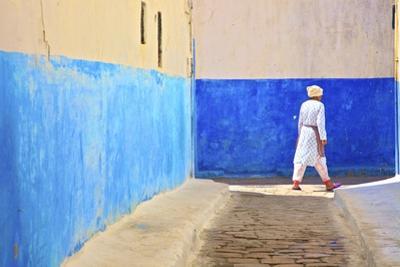 Oudaia Kasbah, Rabat, Morocco, North Africa, Africa by Neil Farrin