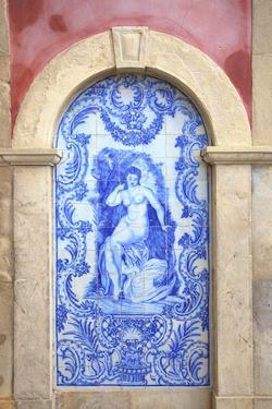 Palace of Estoi, Estoi, Eastern Algarve, Algarve, Portugal, Europe by Neil Farrin