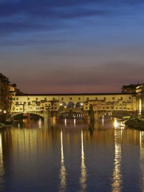 Ponte Vecchio, Arno River, Florence, Italy by Neil Farrin