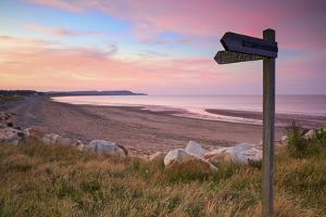Ramsey Beach at Sunset, Isle of Man by Neil Farrin
