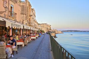 Restaurant, Ortygia, Syracuse, Sicily, Italy by Neil Farrin