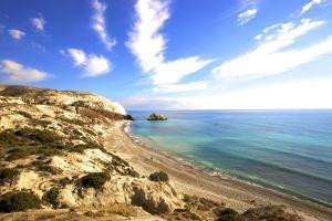 Saracen Rock, Paphos, Cyprus, Eastern Mediterranean Sea, Europe by Neil Farrin