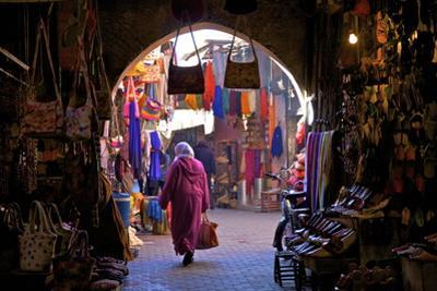 Souk, Marrakech, Morocco, North Africa, Africa