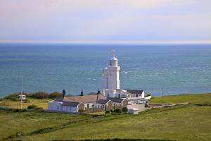 St. Catherine's Lighthouse, Niton, Isle of Wight, England, United Kingdom, Europe by Neil Farrin