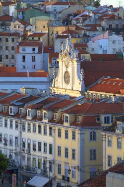 St. Dominic's Church, Lisbon, Portugal, South West Europe by Neil Farrin
