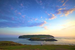 The Sound and Calf of Man, Port St Mary, Isle of Man by Neil Farrin