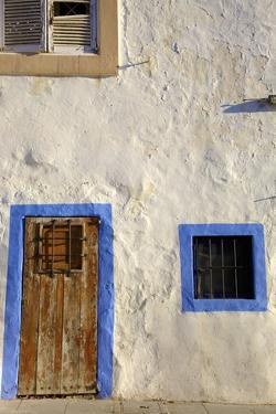 Traditional House, Dalt Vila, Ibiza Old Town, Ibiza, Spain, Europe by Neil Farrin