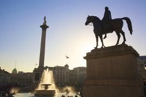 Trafalgar Square, London, England, United Kingdom, Europe by Neil Farrin