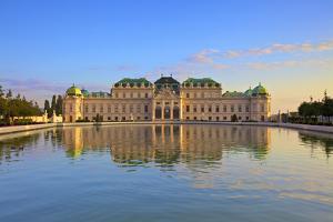 Upper Belvedere Palace, Vienna, Austria by Neil Farrin