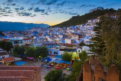 View over Chefchaouen, Morocco, North Africa by Neil Farrin