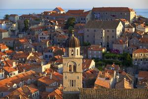 View over Old City with Franciscan Monastery by Neil Farrin