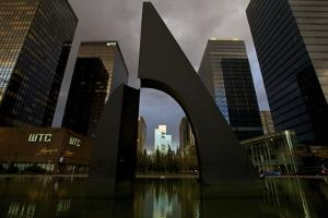 World Trade Centre, Brussels, Belgium, Europe by Neil Farrin