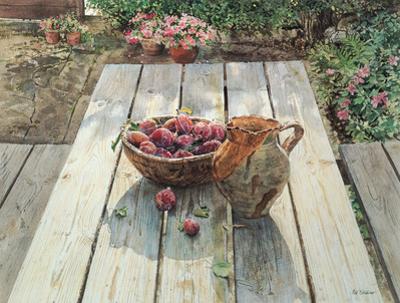 Picnic Bench by Neil Faulkner