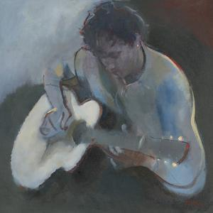 Guitar Player by Neil Helyard