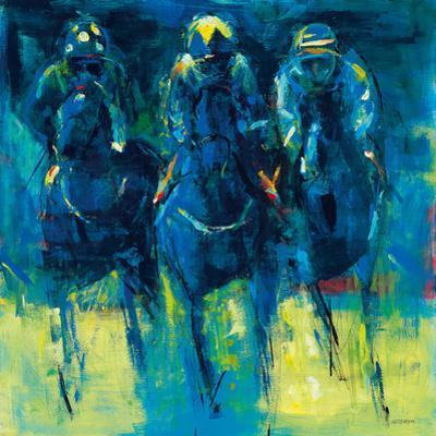 Racehorses - Blue by Neil Helyard
