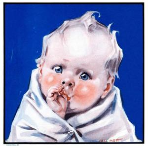 """""""Baby Sucking Thumb,""""January 26, 1924 by Neil Hott"""