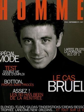 L'Optimum, September 1997 - Patrick Bruel by Neil Kirk