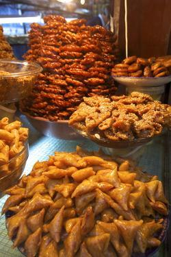 Moroccan Pastries, Fez, Morocco, North Africa, Africa by Neil