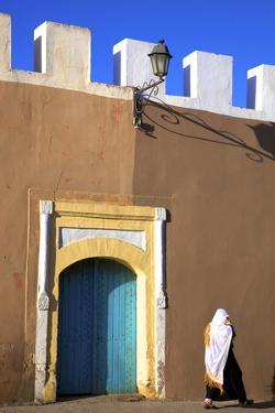 Old City Walls, Tiznit, Morocco, North Africa, Africa by Neil