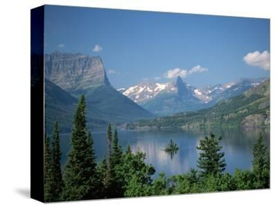 Lake Below Glaciated Peaks