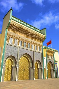 Royal Palace, Fez, Morocco, North Africa, Africa by Neil