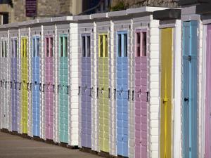 Beach Huts by Neil Setchfield