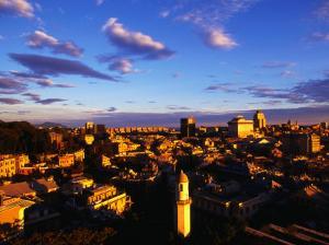 City View, Genova, Liguria, Italy by Neil Setchfield