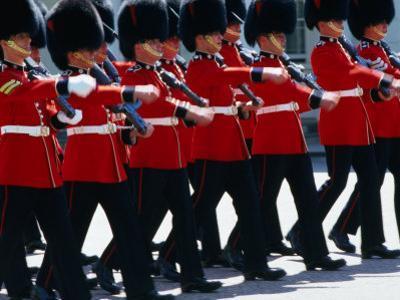 Coldstream Guards on Parade, London, United Kingdom