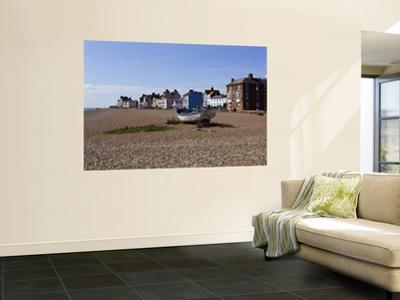 Pebble Beach and Seafront Buildings