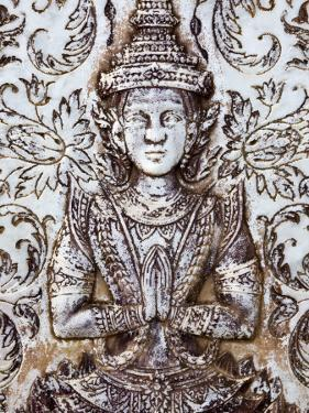 Praying Figure Detail at Royal Palace by Neil Setchfield