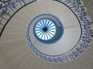 Queen's House Interior Staircase by Neil Setchfield