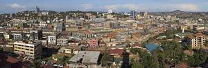 Panoramic View of Kampala, Uganda, Africa by Neil Thomas