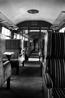 Interior Of Old Steam Train by neillang