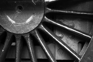 Metal Train Wheel by neillang