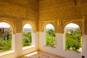 Generalife Windows Granada, Spain by neirfy