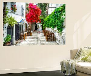 Street of Bodrum by Nejdet Duzen