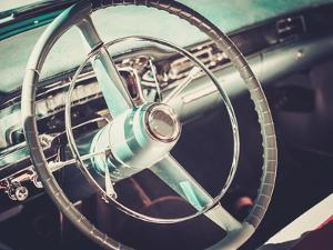 Interior of a Classic American Car by NejroN Photo