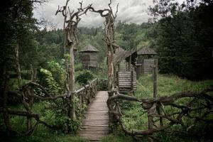 Medieval Wooden Fortification. by NejroN Photo