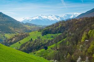 View over Pyrenees Mountains by NejroN Photo