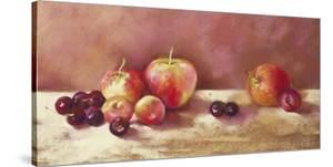 Cherries and Apples (detail) by Nel Whatmore
