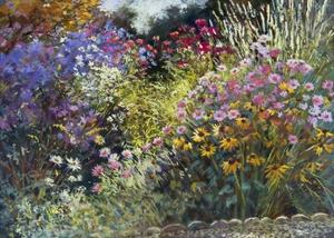 Evening in the Garden by Nel Whatmore