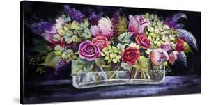 Roses and Lilacs by Nel Whatmore