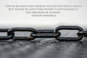 Nelson Mandela Freedom Quote