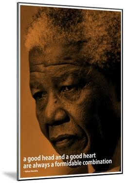 Nelson Mandela Quote iNspire Motivational Poster