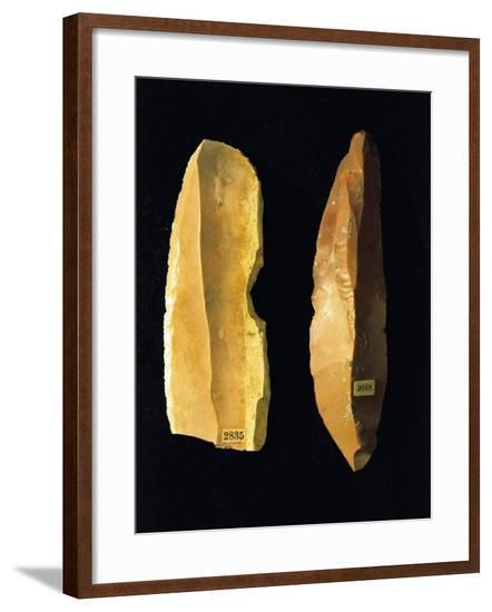 Neolithic Scrapers, from Umbria Region, Italy--Framed Giclee Print