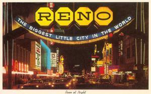 Neon at Night, Reno, Nevada
