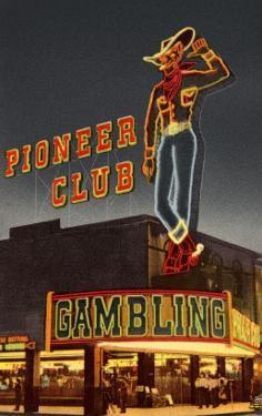 Neon, Pioneer Club, Las Vegas, Nevada