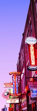 Neon Signs at Dusk, Nashville, Tennessee, USA